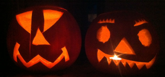Half Term, Halloween and Coombe Farm's Pumpkin Soup