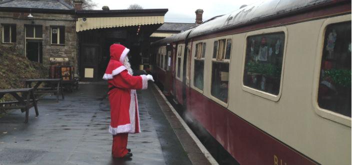 Santa by Steam