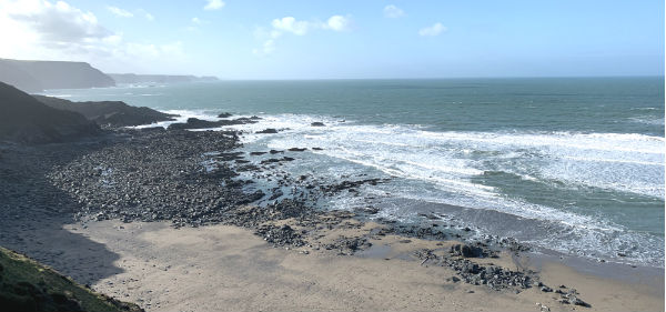 The Strangles Beach – North Cornwall Coast